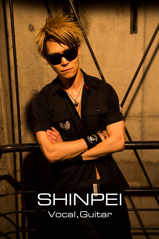 SHINPEI Vocal,Guitar